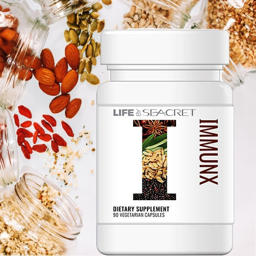 IMMUNX From Life By Seacret Nutrition Supplement Line