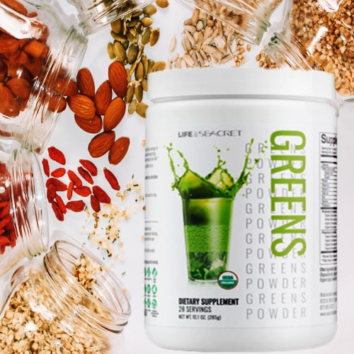 Powder Greens By Life By Secret Nutrition Supplements